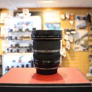 Used Canon EF-S 10-22mm F3.5-4.5 AF USM Lens