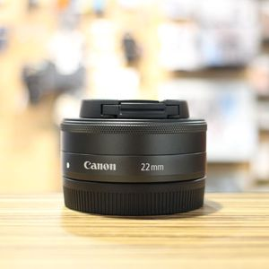 Used Canon EF-M 22mm F2 Pancake Lens for EOS M