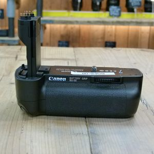 Used Canon BG-E6 Battery Grip for EOS 5D Mark II