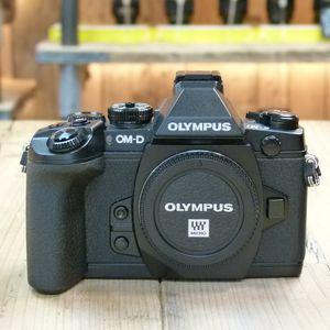 Used Olympus OM-D E-M1 Black Digital Camera Body
