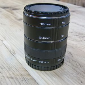 Used KenkoTeleplus Extension Tube Set for Sony A Mount or Minolta AF