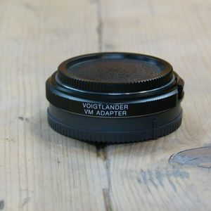 Used Voigtlander VM to Sony E Mount  Adapter (Leica M to E Mount)