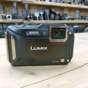 Used Panasonic Lumix DMC-FT5 Black Digital Compact Camera