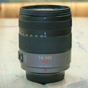 Used Panasonic 14-140mm F4-f5.8  Asph HD Micro Four Thirds Lens