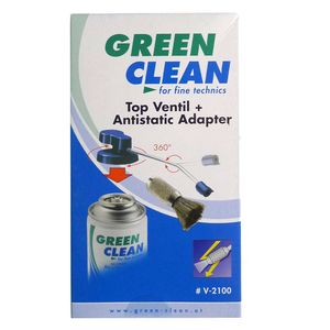 Green Clean V-2100 Valve with Anti-Static Adapter