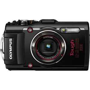 Olympus Stylus Tough TG-4 Black Digital Camera
