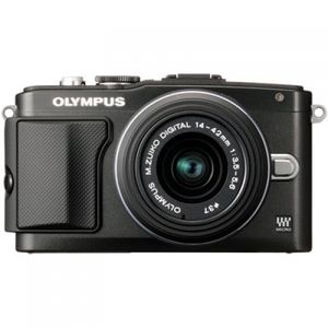 Olympus PEN E-PL5 Black Digital Camera Body with 14-42mm II R Lens