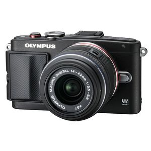 Olympus PEN E-PL6 Digital Camera with 14-42mm f3.5-5.6 EZ Lens and Eye-Fi Card