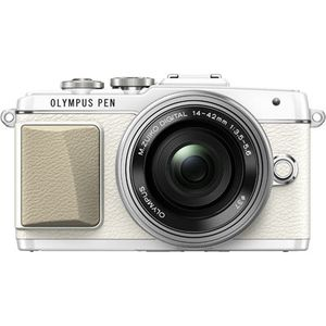 Olympus PEN E-PL7 White Digital Camera with 14-42mm F3.5-5.6 EZ Lens