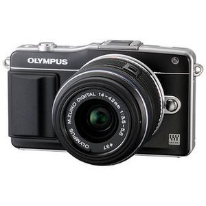 Olympus PEN E-PM2 Black Digital Camera Body with 14-42mm II R Lens