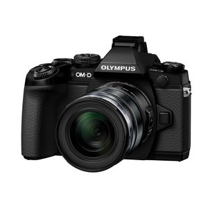 Olympus OM-D E-M1 Digital Camera Black with 12-50mm Lens Kit