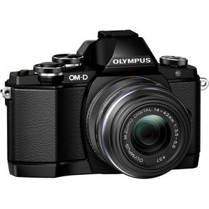 Olympus OM-D E-M10 Black Digital Camera with 14-42mm EZ Lens