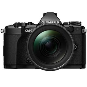 Olympus OM-D E-M5 Mark II Black Digital Camera and Zuiko Pro 12-40mm Lens