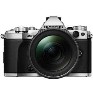 Olympus OM-D E-M5 Mark II Silver Digital Camera and Zuiko Pro 12-40mm Lens