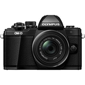 Olympus OM-D E-M10 Mark II Black Digital Camera with 14-42mm Lens