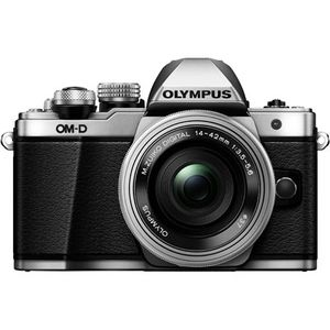 Olympus OM-D E-M10 Mark II Silver Digital Camera with 14-42mm Lens