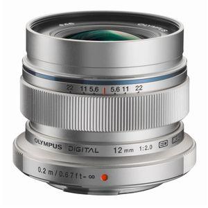 Olympus 12mm f2 ED M.ZUIKO Silver Micro Four Thirds Lens