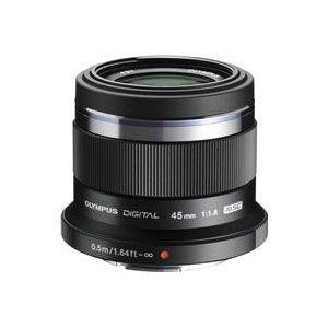 Olympus 45mm f1.8 M.ZUIKO Black Micro Four Thirds Lens
