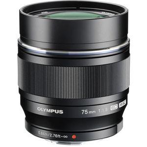 Olympus 75mm f1.8 ED M.ZUIKO Black Micro Four Thirds Lens