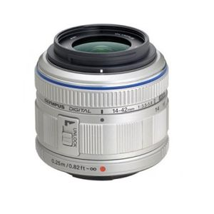 Olympus 14-42mm f3.5-5.6 II R M.ZUIKO Sliver Digital Micro Four Thirds Lens