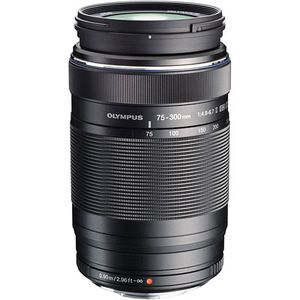 Olympus 75-300mm f4.8-6.7 II ED M.ZUIKO Black Micro Four Thirds Lens