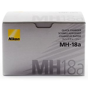 Nikon MH-18a Quick Charger for EN-EL3e EN-ELa & EN-EL3 Batteries MH18A