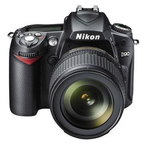 Nikon D90 D-SLR Camera Body & 18-105mm DX VR Lens