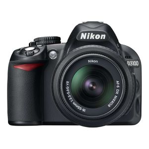 Nikon D3100 D-SLR Digital Camera Body & 18-55mm VR Lens