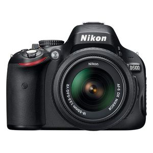 Nikon D5100 Digital D-SLR Camera and 18-55mm VR lens