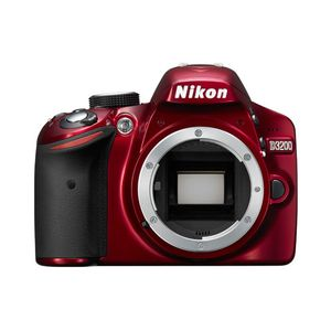 Nikon D3200 Red Digital SLR Camera Body