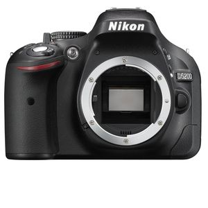 Nikon D5200 Black DSLR Camera Body
