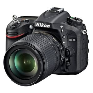 Nikon D7100 D-SLR Digital Camera Body and 18-105mm VR Lens