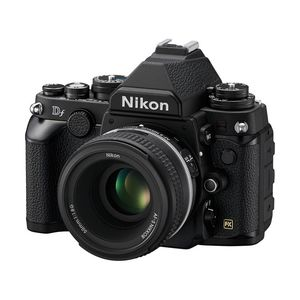 Nikon DF Black Digital SLR Camera with AF-S NIKKOR 50mm f/1.8G Lens