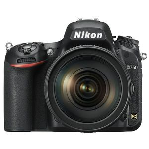Nikon D750 Digital SLR Camera with 24-120mm F4 G ED VR Lens