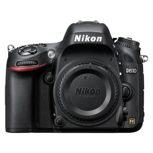 Nikon D610 Black Digital SLR Camera Body