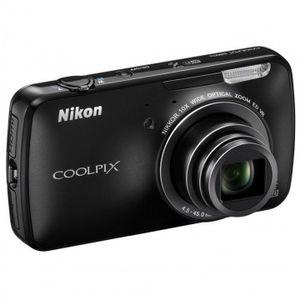 Nikon Coolpix S800c Black Digital Camera