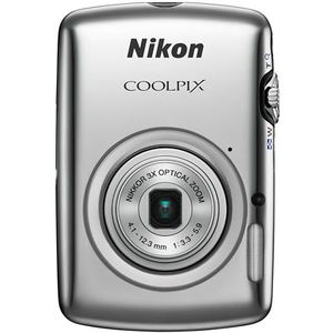 Nikon Coolpix S01 Silver Digital Camera
