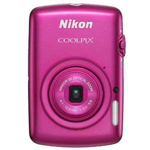 Nikon Coolpix S01 Pink Digital Camera