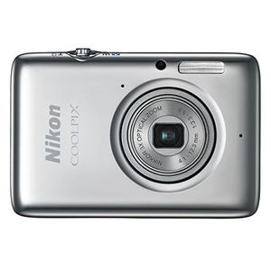 Nikon Coolpix S02 Silver Digital Compact Camera
