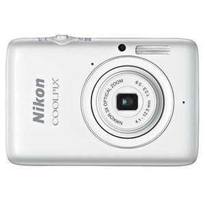 Nikon Coolpix S02 White Digital Compact Camera