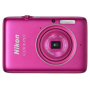 Nikon Coolpix S02 Pink Digital Compact Camera