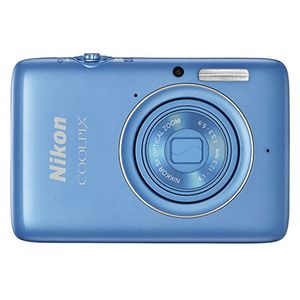 Nikon Coolpix S02 Blue Digital Compact Camera