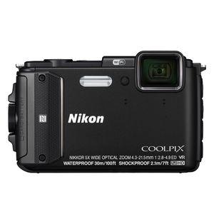 Nikon Coolpix AW130 Black Digital Camera