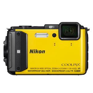 Nikon Coolpix AW130 Yellow Digital Camera