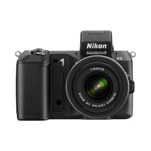 Nikon 1 V2 Black Digital Camera with 10-30mm Lens Kit