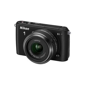 Nikon 1 S1 Black Digital Camera Kit with 11-27.5mm Lens