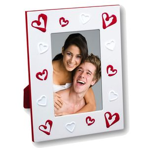 Alicia White and Red Heart 6x4 Photo Frame