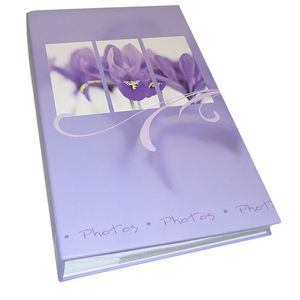 Walther Flora Lilac 6x4 Slip In Photo Album - 300 Photos