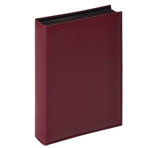 Walther De Luxe Burgundy Slip In 6x4 Photo Album - 200 Photos