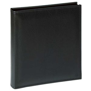 Walther Premium Extra Large Black Traditional Photo Album - 80 Black Sides
